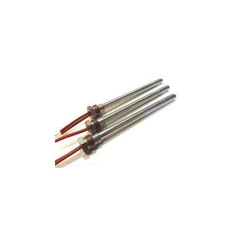 "RESISTENCIA ELECTRICA 280 W 9,9 X 150 mm. ROSCA 3/8"" TOTAL 160 mm."